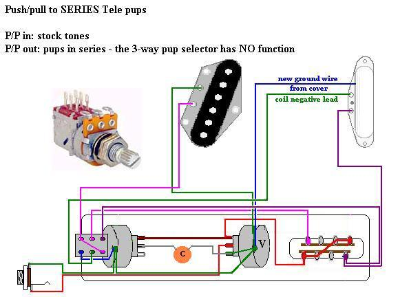 Impossible wiring   50s and series       Telecaster    Guitar Forum